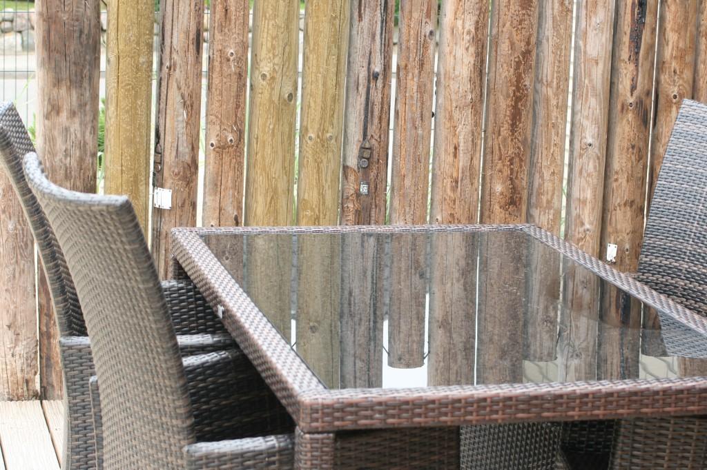 Terrasse - Esstisch